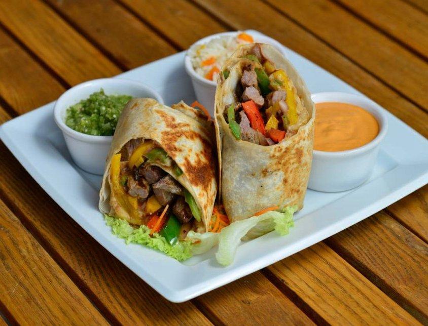 Arrachera Beef Burrito